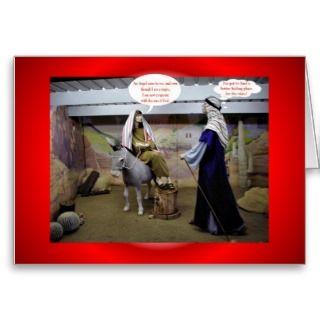 Christmas Xmas MARY AND JOSEPH IN BARN VIRGIN MARY Cards