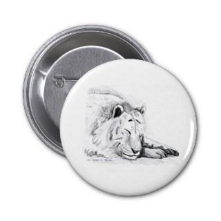 Sleeping White Tiger head and paws Pencil Drawing