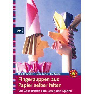 Fingerpuppen aus Papier selber falten. Mit Geschichten zum Lesen und