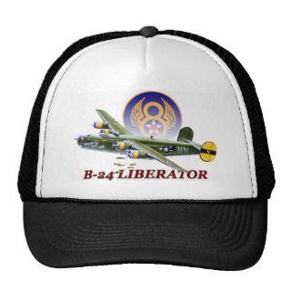 24 LIBERATOR 8TH AIR FORCE HAT