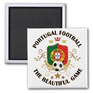 Portugal Football Soccer Futbol Refrigerator Magnets