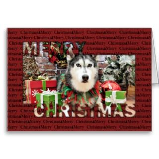 photograph this siberian husky dog for it s christmas holiday portrait