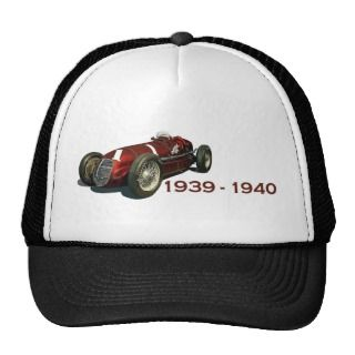 Shaw Maserati 8CTF Indy Car Trucker Hat