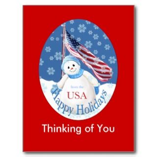Christmas Postcard for Troops