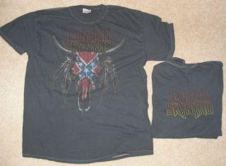 LYNYRD SKYNYRD Skull Overdye Shirt NEW