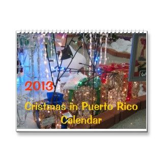 Christmas in Puerto Rico   2013   art by Galina   Wall Calendars