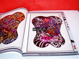 A3 Skizze Tattoo Flash Magazine Art Book CHINA Bären 3