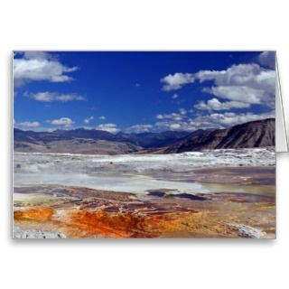 Merry Christmas   Happy New Year Yellowstone Greeting Cards