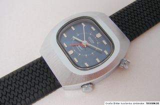 Sicura Signal Alarm 17 Jewels Swiss Made Uhr Herrenuhr men gents watch