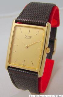 Seiko Quartz Uhr 6530 5550 Quarzuhr sehr flach vintage mens seiko