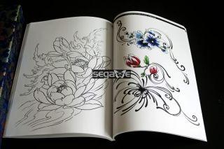 TATTOO FLASH MAGAZINE Buch 100 FLOWER ROB NO.1 A4 SIZE
