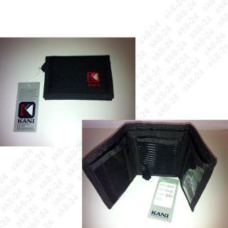 Karl Kani Wallet / Geldbörse Schwarz KC9605