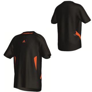 Kinder Trikot Funktionsshirt T Shirt Clima 365 Tee schwarz