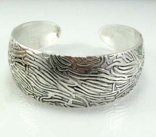 Classical tradetional tibet silver bracelet bangle Z9