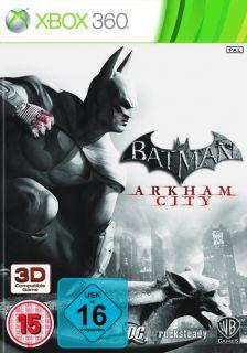 Batman Arkham City  Xbox 360 Spiel
