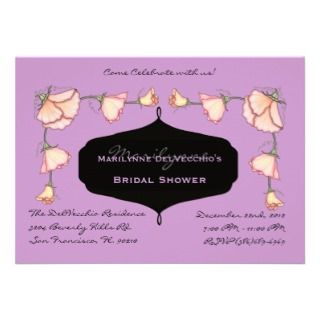 CUTE Pink Bridal Shower Party Invite