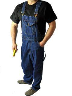 Stabile Arbeits  und Heimwerker Denim Jeans Latzhose
