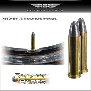 Davidson Räder Ventilkappe 357 Magnum Ventilkappen CNC Bullet