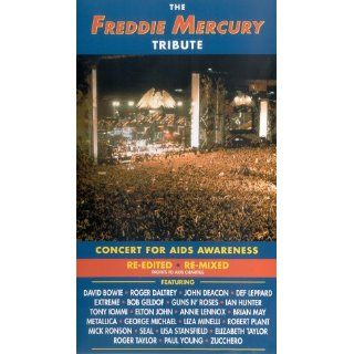 Freddie Mercury   Tribute Concert [VHS] David Mallet VHS