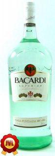 Bacardi Carta Blanca 2 Liter Flasche 37,5%