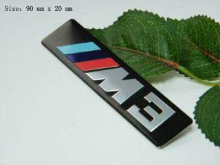 D374 BMW M3 Power Sport auto aufkleber top 3D Embleme Tuning Tribal