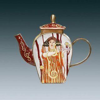 Goebel Teekanne Gustav Klimt Medizin NEUHEIT Mini   Teekanne