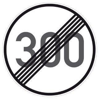 Tempolimit 300 kmh aufgehoben Aufkleber Decal Sticker DUB OEM NEU