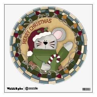christmas mouse holding a candy cane and the caption merry christmas