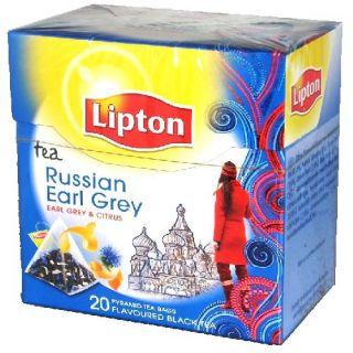 LIPTON PYRAMIDENBEUTEL RUSSIAN EARL GREY 20 X 1,8 GRAMM € 2,29/ €