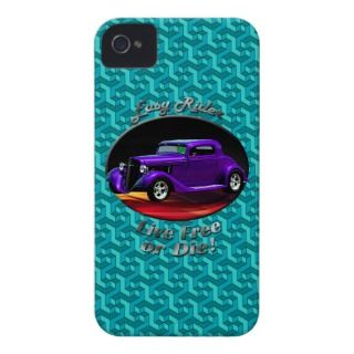 34 Chevy hotrod Geometric iPhone 4 Case Mate iPhone 4 Cases