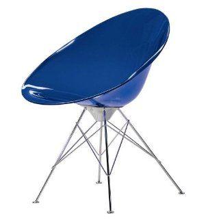 EroS Stuhl blau/transparent Küche & Haushalt