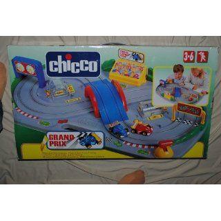 Rarität  Chicco Rennbahn Grand Prix elektrische Autorennbahn Kinder
