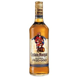 Flaschen Captain Morgan Spiced Gold Rum 0,7L (1L17,86€)