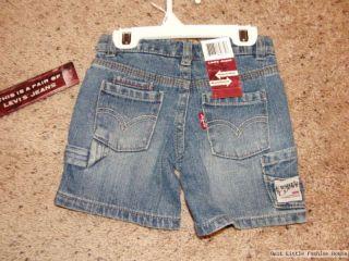 Original Levis Baby Jeans Shorts Kurze Hose 80   NEU