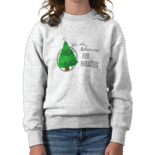 Brain Cancer Christmas Miracles Pullover Sweatshirt