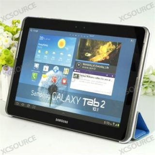 Fold Leather Cover Case For Samsung Galaxy Tab 2 10.1 P5100 P5110