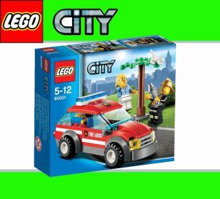 NEU LEGO CITY 60001 Feuerwehr Einsatzwagen Fire Chief Car