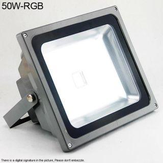 Neu 50W / 30W / 10W RGB LED SMD Fluter Außen Strahler Flutlicht IP65