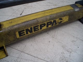 Hydraulik Handpumpe mit Hydraulik Schlauch manual hand pump Enerpac