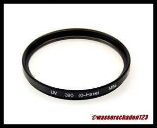 Sperrfilter UV FILTER 390 (O Haze) FILTER UV 52mm M52 52 mm (O1434