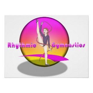 Rhythmic Gymnastic Girl Posters