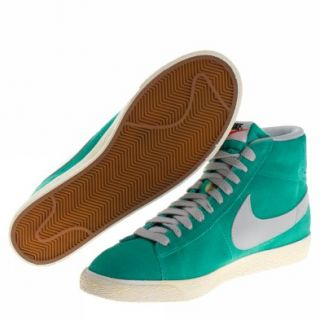 Nike Blazer Mid Prm Vntg Suede [44,5  us 10,5] Grün Grau Schuhe