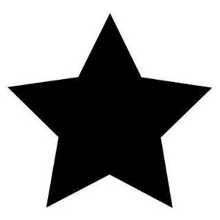 Autoaufkleber Sticker Stern schwarz NEU Aufkleber Auto