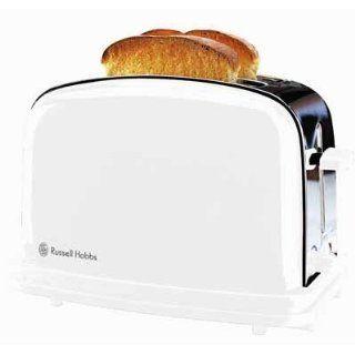 RUS 14412 White Toaster Küche & Haushalt
