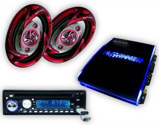 Endstufe Verstärker USB  SD CD Radio Lautsprecher CAR 398