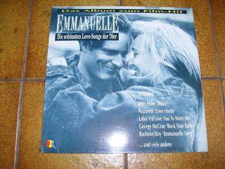 EMMANUELLE   DIE SCHÖNSTEN LOVE SONGS  LP MINT