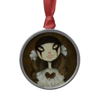 Dark Fairy Tale Character 1 Christmas Tree Ornament
