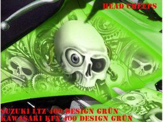 INVISION DEKOR KIT SUZUKI LTZ 400 HEAD CREEP DECALS B