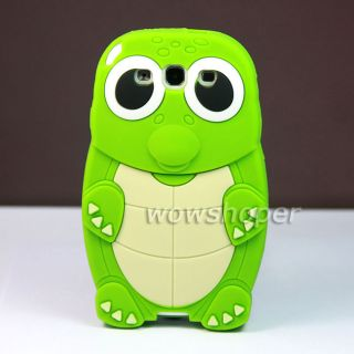 Turtle Silicone Soft Skin Case Cover For SAMSUNG GALAXY S III S3 I9300