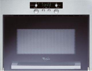 Edelstahl Einbau Mikrowelle AMW 405, 750 Watt, 22 Liter, 3 D